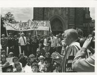 Apartheid Protest; Duke University Archives