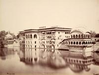 Deig; The Gopal Bhowun (Palace) and Tank <br />