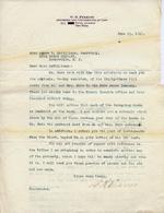Letter regarding deeds, 1917