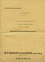 Marriage Contract between Doris Duke and Porfirio Rubirosa, 1947