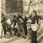l-r, Marian Paschal, Doris Duke, and Mary Crane, circa 1938
