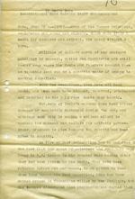 News article by Doris Duke, circa 1945