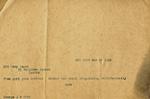 J.B. Duke telegram, 1912