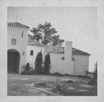 Falcon Lair exterior, circa 1950s, courtesy of the Doris Duke Foundation for Islamic Art