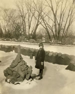 Doris Duke at Duke Farms, circa 1920s