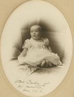 Doris Duke at six months, May 1913
