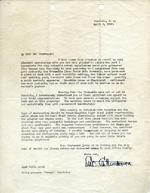 Letter to Horace Trumbauer regarding the Hawaiian estate, 1936 Apr 4