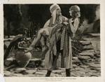 Movie still of Rudolph Valentino, circa 1920s