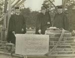 Laying the cornerstone of Duke University, June 5, 1928