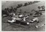 Aerial view of Olghart Farms, circa 1970s