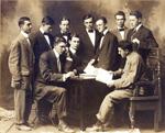 The Chronicle staff, circa 1908-1911