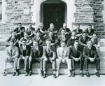 President Richard Nixon's law school class.  Nixon is in the top row, at the far right.
