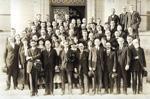 1920 Phi Beta Kappa installation ceremony