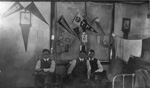 Students in the Trinity Park School dormitory