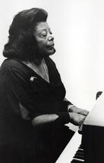 Jazz musician Mary Lou Williams