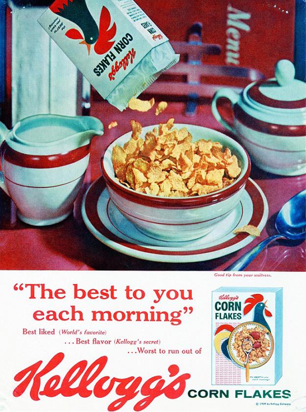 Corn Flakes, 1959