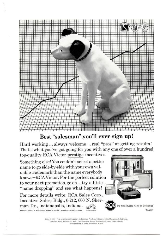 RCA dog ad.