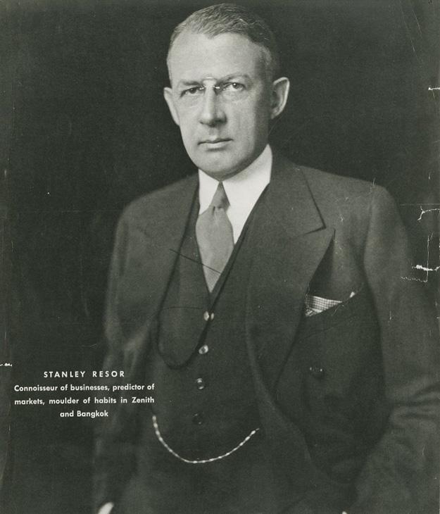 Portrait of Resor, 1920.