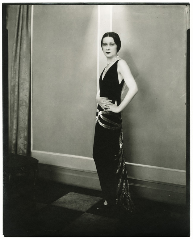 Edward Steichen photograph of Gloria Vanderbilt for Pond's testimonial campaign, 1925.