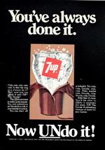 7-Up, circa 1976.