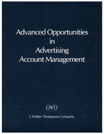 JWT Account Management Opportunities, 1969.