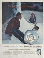 Aqua Velva Ad, 1956.