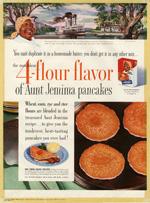 Aunt Jemima Pancake Mix, 1954.