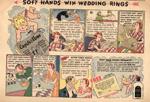 Jergen's Lotion Cartoon, 1930s.