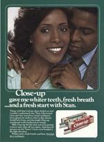 Close-Up Toothpaste, circa 1980.