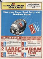 Domino's Pizza, 1990s.