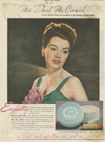 Pond's Face Powder, 1947.
