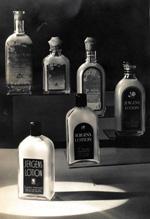 Jergens Lotion Bottles, circa 1920.