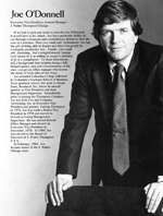 Joe O'Donnell, early 1980s.