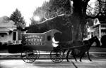 Early Kraft cheese wagon, undated.
