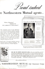 Northwestern Mutual Life, 1950s.