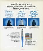 Parker Systemark Pen, 1975.