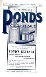 Pond's Extract, circa 1909.