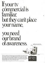 Reader's Digest Trade ad, 1960s.