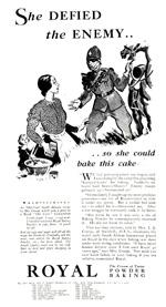 Royal Baking Powder, 1932.