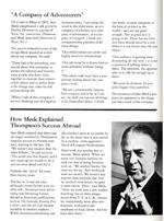 News article on Sam Meek, undated.
