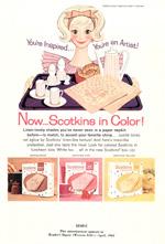 Scott Paper Napkins, 1960.