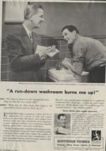 Scott Towels, 1947.
