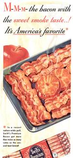 Swift's Bacon, circa 1943.