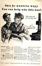 WWII Wellness advertisement