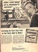 Fleischmann's Yeast, 1945.