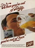 Schlitz Beer, 1968.