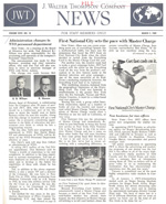 1969 JWT Newsletter article announcing Wilson's promotion to head of Personnel.