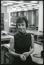 Connie Dunlap, University Librarian, 1970s.