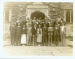 Freshman class of law students, 1933.