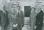 Perkins Library Dedication Ceremony, 1970.